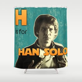 H is for... Shower Curtain