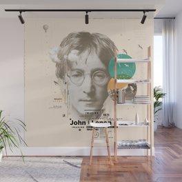 john lenon-imagine Wall Mural
