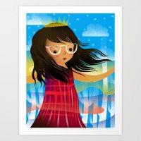 chelsea Art Prints featuring Chelsea by dan elijah g. fajardo