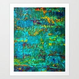 sunfields Art Print