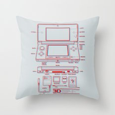 3DS Throw Pillow