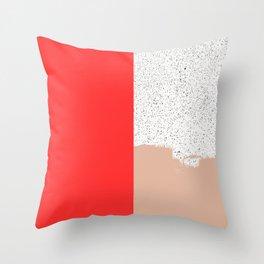 Mid Sun Throw Pillow