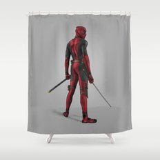 Deadpool Shower Curtain