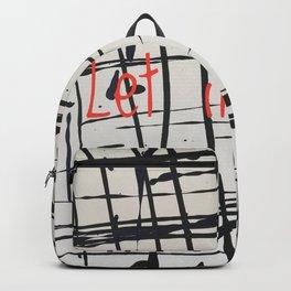 Best foot forward - Let it snow Backpack
