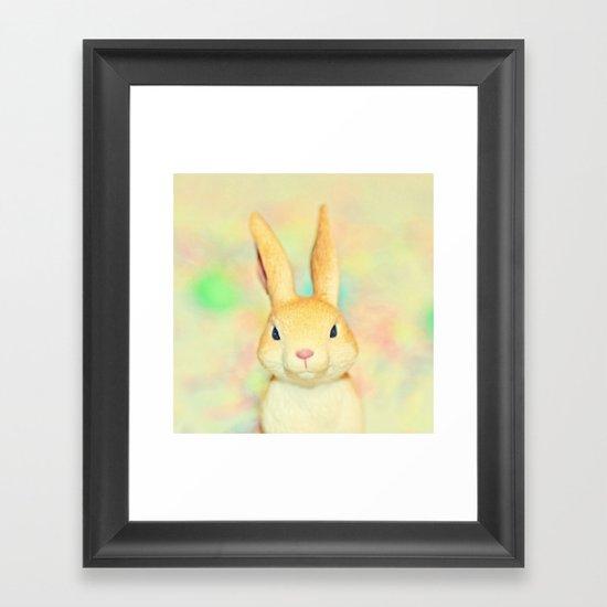Some Bunny... Framed Art Print