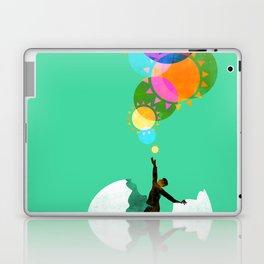 Here comes the sunshine Laptop & iPad Skin