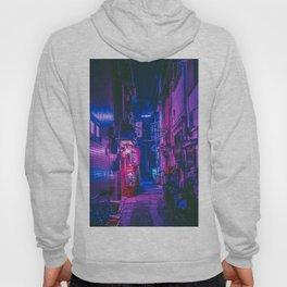 The Neon Alleyway Ghost Hoody
