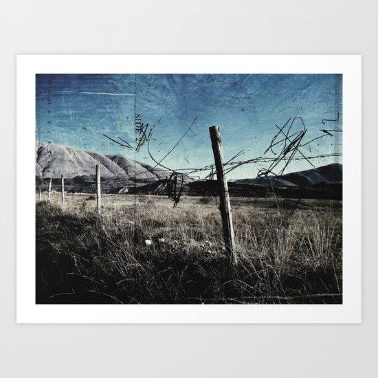 DRESSED LANDSCAPE  Art Print
