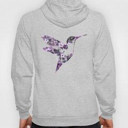 Purple Hummingbird Art Hoody