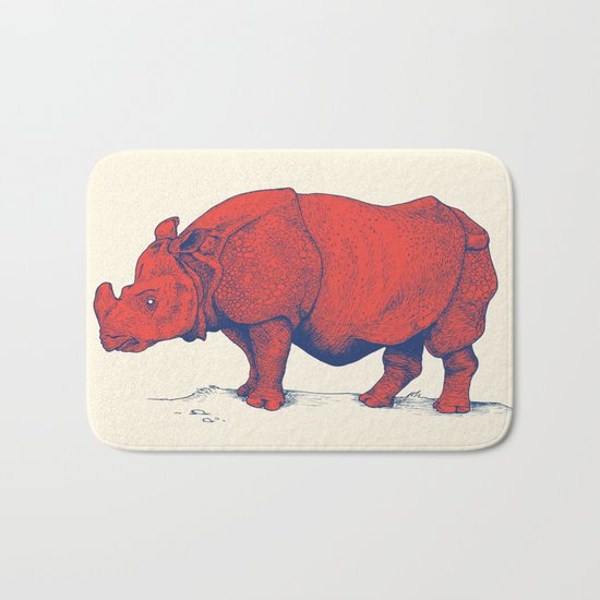 Red Rhino Bath Mat