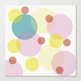 Light Orbs Canvas Print