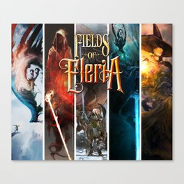 Fields of Eleria : Five Paths Canvas Print