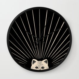 Good Morning son - Kitty 2 Wall Clock