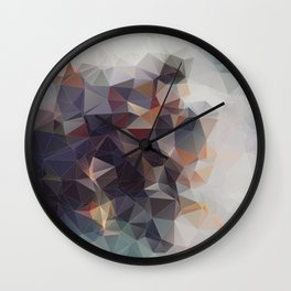 GRA GRA GRAPES Wall Clock