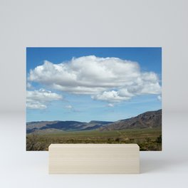 Roadtrip through Arizona Landscape Mini Art Print