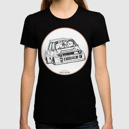 Crazy Car Art 0076 T-shirt