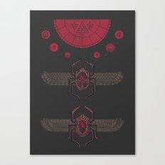 Scarabs Canvas Print