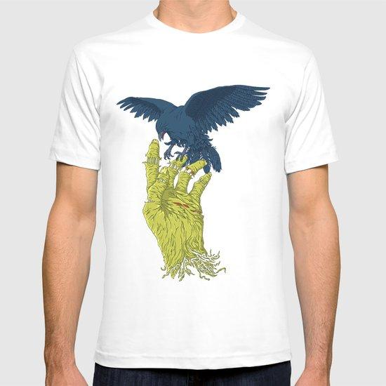 Corvo-papa-zumbi T-shirt