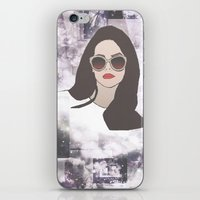 lana iPhone & iPod Skins featuring LANA by Share_Shop