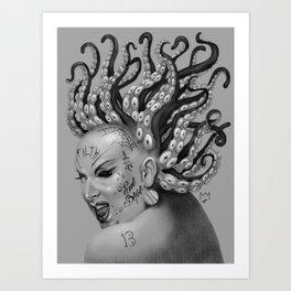 Divine: Eat Shit Art Print