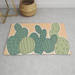 Cutesy Cacti Rug