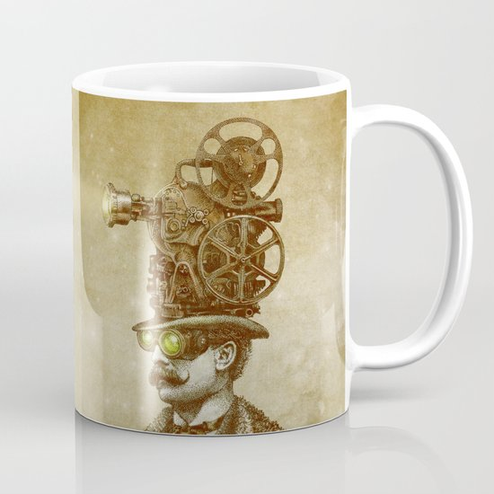 The Projectionist (sepia option) Mug