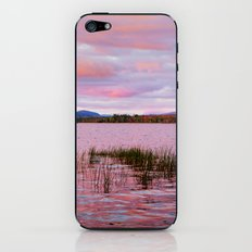 Sunset over Raquette Lake iPhone & iPod Skin