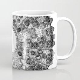 GEOMETRIC NATURE: SEA URCHIN w/b Coffee Mug