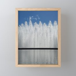 Bloch Fountain not a Block Framed Mini Art Print