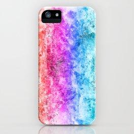 Multicolor aguarelle shine iPhone Case