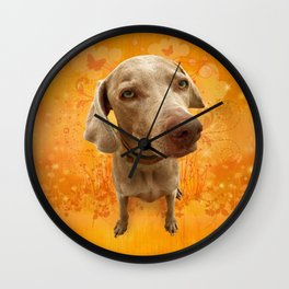 PARKER POSEY (tang) puffy cloud series Wall Clock