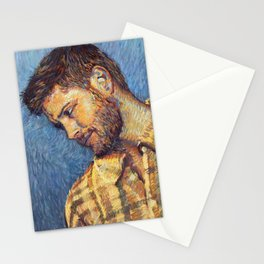 Gogh-Style Jensen Stationery Cards