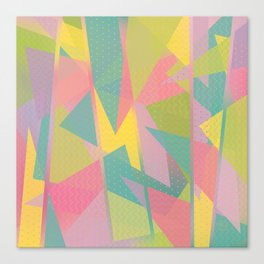Abstract Geometric Pattern - Sugar Crush Canvas Print
