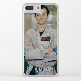 Bill Murray Ghostbusters Clear iPhone Case