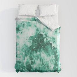 Teal Pattern Comforters