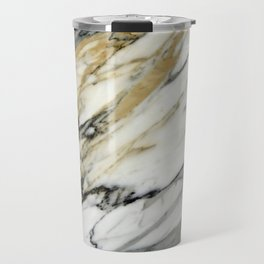 Carrara Marble Travel Mug