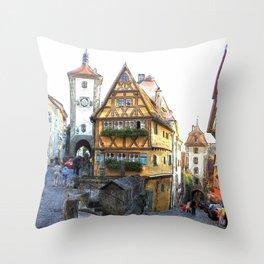 Rothenburg20150903 Throw Pillow