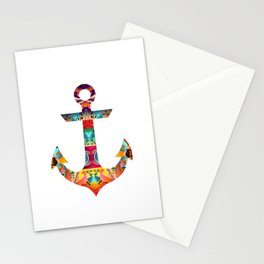 Decorative Anchor Stationery Cards