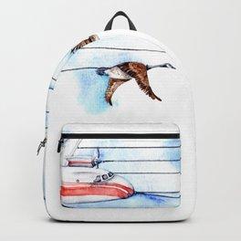 Air Canada Goose Backpack