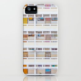 Hong Kong apartment in old district iPhone Case