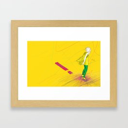 THE Lady One Framed Art Print