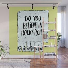 Believe in Rock & Roll Wall Mural
