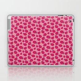 Pink Ladybugs Laptop & iPad Skin