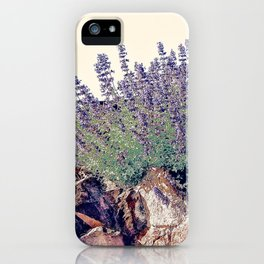 Lavender And Stone iPhone Case