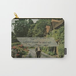Lure of Lonely Trails Carry-All Pouch