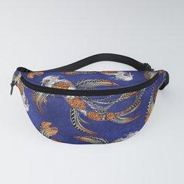 Koi Fish Zentangle Pattern Fanny Pack