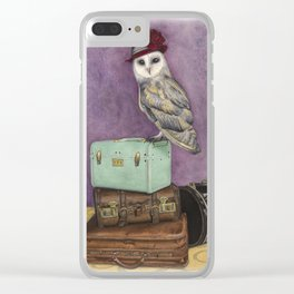Going Places Clear iPhone Case