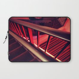 Red Light Staircase Laptop Sleeve