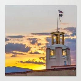 Santa Fe Bataan Memorial Sunrise - New Mexico Canvas Print
