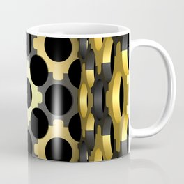 Stylish ornamented cup with an openwork structural mesh. Coffee Mug